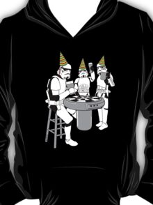 Stormtrooper Party! - Happy Birthday - Shirt, Sweater, Sticker, and More! T-Shirt