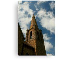 Towering Overhead Canvas Print