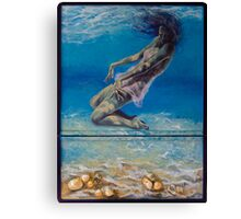 Longing From The Depths Canvas Print