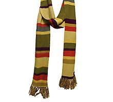 Doctor Who - Fourth Doctor Scarf Photographic Print