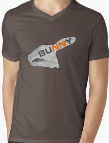 BUNNY ANATOMY RABBIT Mens V-Neck T-Shirt