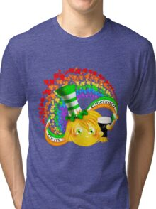 Erin Emerald - Irish Puffgirl Tri-blend T-Shirt
