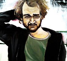 portrait of the artist as an uncomfortable scruffy brunswegian by Richard Whitehouse