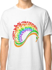 There is always a lucky rainbow over Ireland Classic T-Shirt
