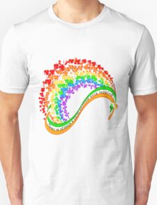 There is always a lucky rainbow over Ireland Unisex T-Shirt