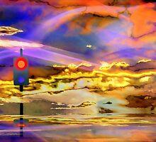 No trespassing beyond cloud nine by Vasile Stan
