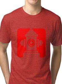 FIRE HIDRANT PICTOGRAM  Tri-blend T-Shirt