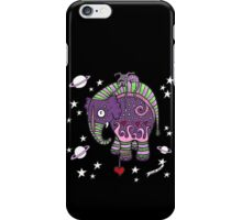 Interstellar Elephant Tee iPhone Case/Skin