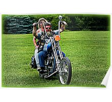 Friends ~ Triumph Chopper: Cascades 2009 Poster