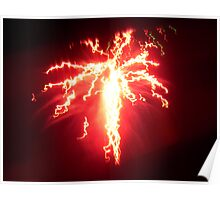 Electric Fire Poster