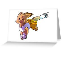 Purrtal - Chibi Chell Sticker Greeting Card