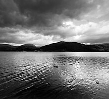 Darkening Skies over Windermere by Kevin Skinner