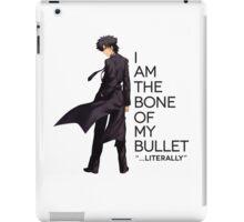 Kiritsugu - I Am The Bone of My Bullet iPad Case/Skin