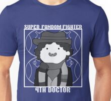 Super Fandom Fighter - 4th Doctor Unisex T-Shirt