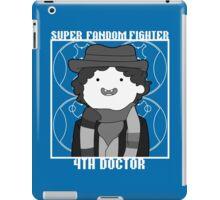 Super Fandom Fighter - 4th Doctor iPad Case/Skin
