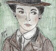 Coco Chanel(as Portrayed by Audrey Tatou) by RobynLee