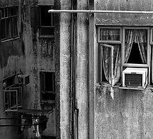 Hong Kong Windows by Tim Poitevin