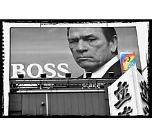 Autumn in Japan:  Tommy Lee Jones - Boss of the Bad-Asses Photographic Print