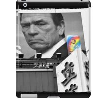 Autumn in Japan:  Tommy Lee Jones - Boss of the Bad-Asses iPad Case/Skin