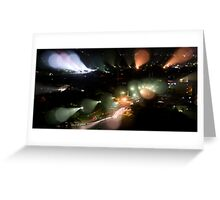 Alien Experiment Greeting Card