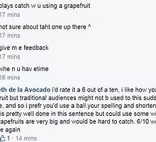 grapefruit catch by lilbabyfacemayn