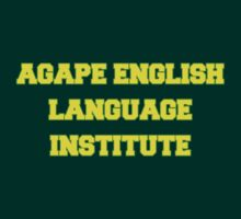AGAPE ENGLISH LANGUAGE INSTITUTE by philbeck