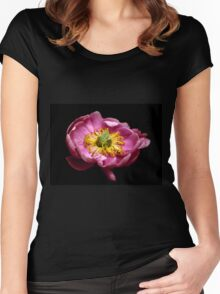 Peony Pride Women's Fitted Scoop T-Shirt