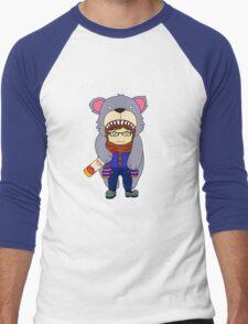 Bear Cape Men's Baseball ¾ T-Shirt