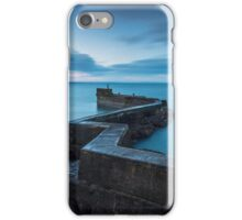 The Blocks: Breakwater to St Monans' Harbour iPhone Case/Skin