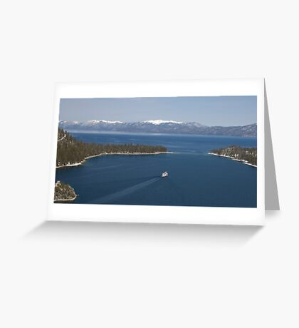 Emereld Bay, Lake Tahoe, CA Greeting Card