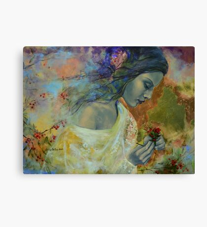 Poem at Twilight Canvas Print