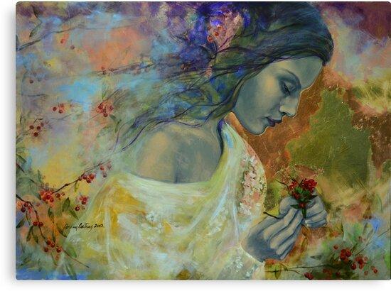 Poem at Twilight by dorina costras
