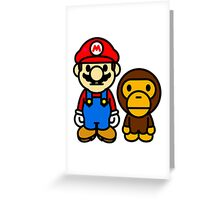 Milo & Mario Greeting Card