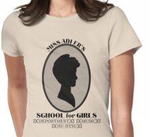 The Adler School (Dark) Womens Fitted T-Shirt