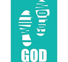 I Will Follow God Photographic Print