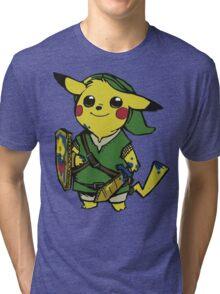 Pikachu Tri-blend T-Shirt