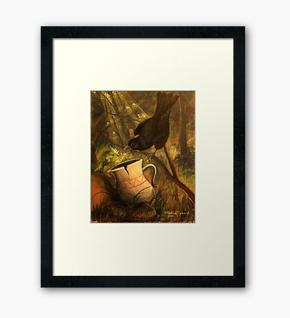 Persistence Framed Print