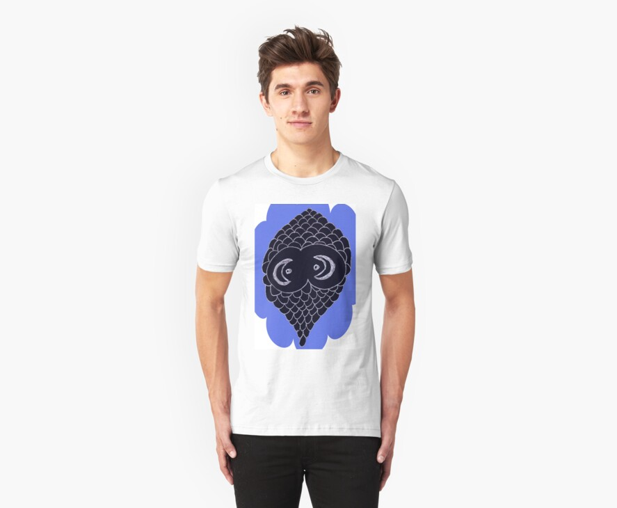 Alien Eyes Tee by KazM