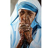 Mother Teresa Photographic Print