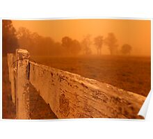 Queensland Dust Storm, Mt Tamborine Poster
