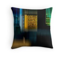 urb reverberation #16 (21st Century Dreaming)  Throw Pillow