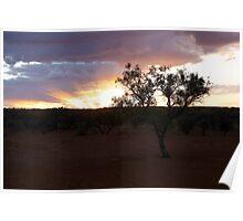 Sunrise Simpson Desert Poster