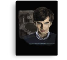 Norman Bates-Bates Motel Canvas Print