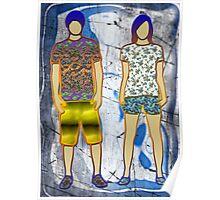 Disco children Poster
