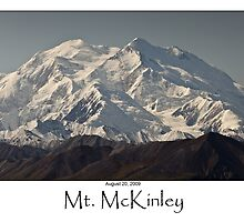Mt. McKinley by Monication