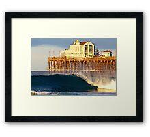 Pier-fection Framed Print