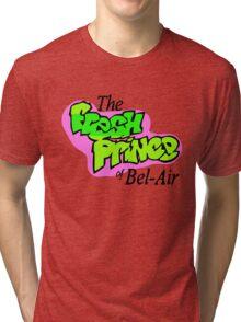 Fresh Prince logo Tri-blend T-Shirt