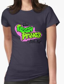 Fresh Prince logo Womens Fitted T-Shirt