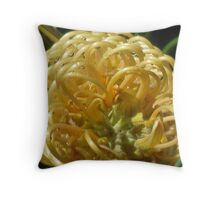 Grevillea honey gem Throw Pillow