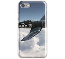 Corsair F4U - Royal Navy iPhone Case/Skin